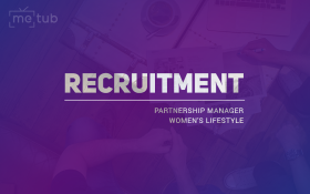 TUYỂN DỤNG PARTNERSHIP MANAGER, WOMEN'S LIFESTYLE
