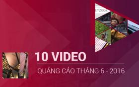NIKE DẪN ĐẦU TOP 10 VIDEO QUẢNG CÁO YOUTUBE THÁNG 6 VỚI  HƠN 53 TRIỆU LƯỢT XEM
