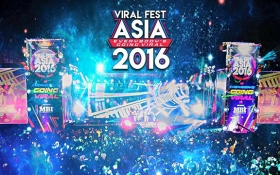 VIRAL FEST ASIA 2016 - LỄ HỘI ÂM NHẠC HOÀNH TRÁNG HỘI TỤ TOP NGHỆ SĨ CHÂU Á VỚI 8000 FANS